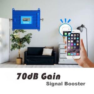 Image 3 - Lintratek 70dB High Gain 4G LTE B3 FDD 1800MHz Cellphone Signal Booster 4G Internet Cellular Amplifier Repeater Antenna Set S6