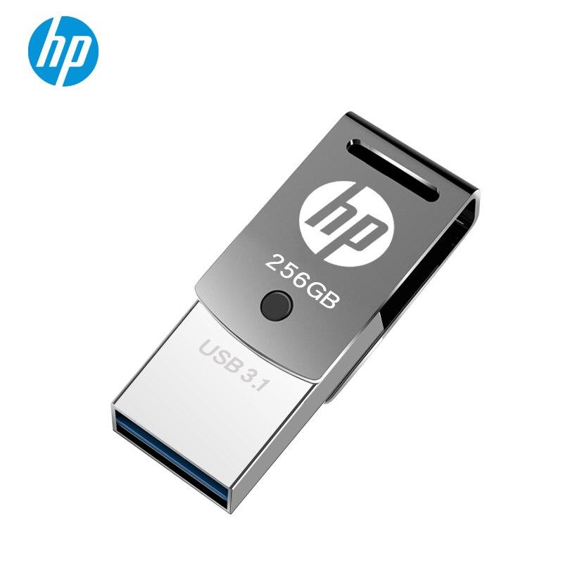 New OTG USB Drive 256GB 128GB 64GB 32GB Type C Pendrive Tipo C Cle USB3.1 DIY LOGO DJ Stick For Macbook Laptop Tablet Phone USB3