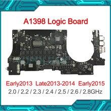 Original Logic Board CPU i7 8GB 16GB For MacBook Pro Retina 15