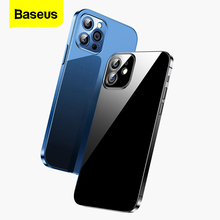 Baseus Transparent Phone Case For iPhone 12 11 Pro Xs Max X Xr Coque Clear Soft TPU Back Cover For iPhone 12Pro Max Fundas Shell