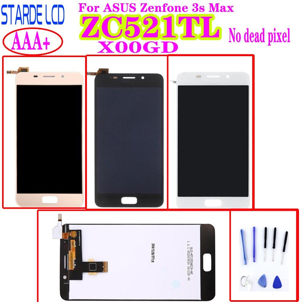 Сменный ЖК-дисплей STARDE для Asus Zenfone 3s Max ZC521TL X00GD, ЖК-дисплей с сенсорным экраном и дигитайзером в сборе ZC521TL, ЖК-дисплей с инструментами