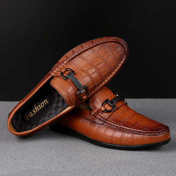 Mens Fashion Leather Boat-Shoes