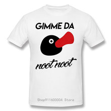 Hommes Gimme Da Noot Noot Pingu t-shirt série pingouin