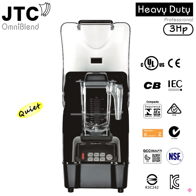 Commercial Blender+Best Sound enclosure box,Model: TM-800AQ(Omni-Q),Black,FREE SHIPPING,100% positive feedback!
