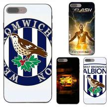 Coque Shell para iPhone X de Apple XS Max XR 4 4S 5 5S SE 6 6S 7 8 Plus West Bromwich logotipo(China)