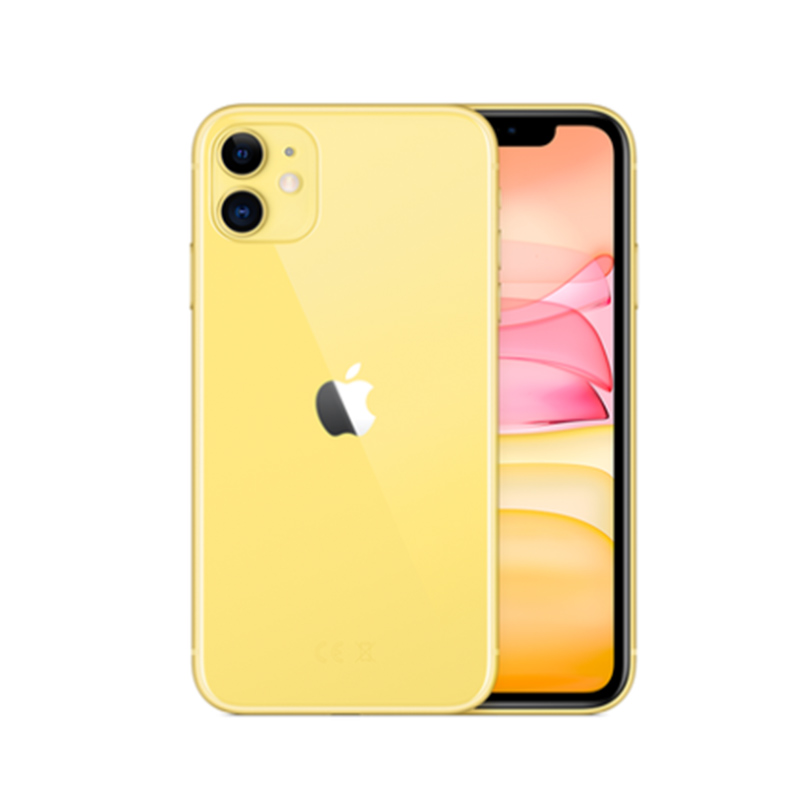Apple Used Unlocked Original iPhone 11 6.1 inch Full OLED Display 1 Sim Card 4G LTE Dual-camera Smart Phone 64/128/256GB ROM A13