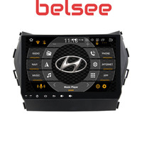 Belsee 9 IPS Touch Screen Android 9.0 Car DVD Multimedia Player GPS Navigation for Hyundai Santa Fe ix45 2013 2014 2017