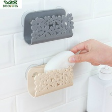 WBBOOMING Kitchen Organizer Bathroom Wall Mounted Soap Rack Sink Suction Sponges Holder Suction Cup Rack Dish Cloths Holder