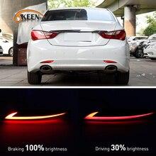 2pcs Car LED Rear Bumper  Reflector for Hyundai So