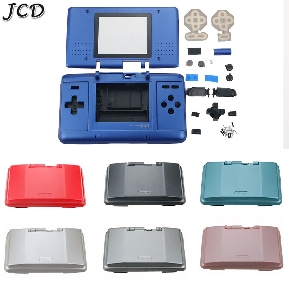 JCD Housing Shell Case Cover with Buttons For Nintend DS Game Console Replacement Dustproof Protective Case for NDS Repair Parts