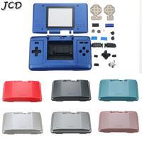 JCD carcasa con botones para Nintendo DS repuestos para consolas de juegos funda protectora a prueba de polvo para piezas de reparación NDS