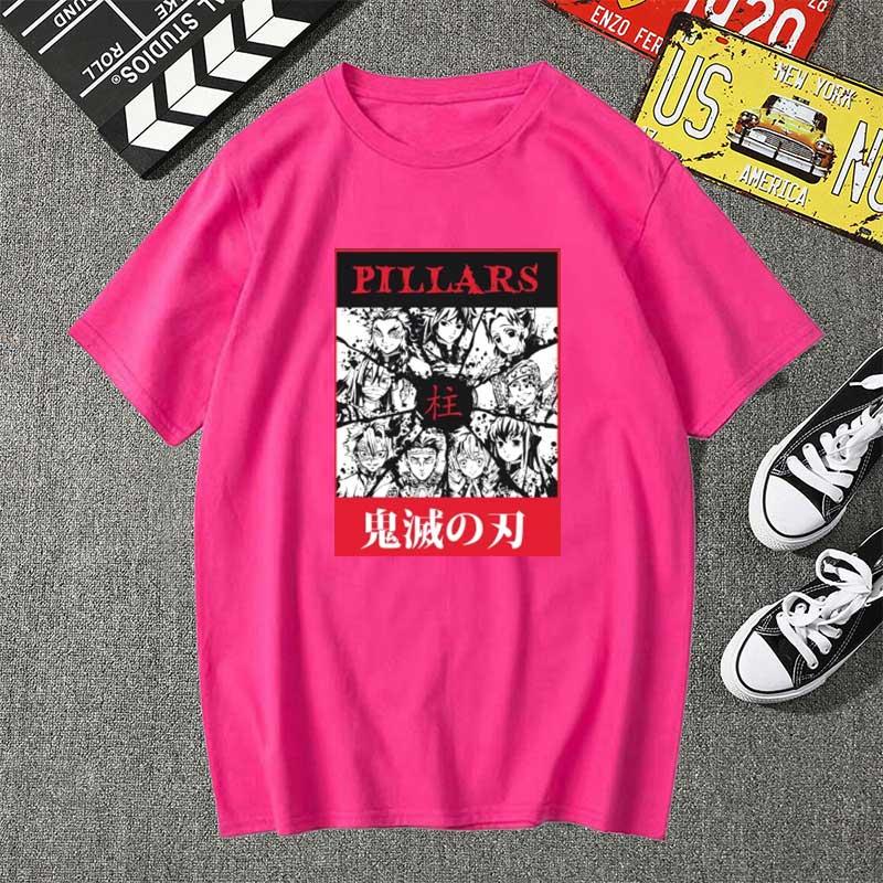 2020 футболка haikyuu kimetsu no yaiba pillar мужские кавайные
