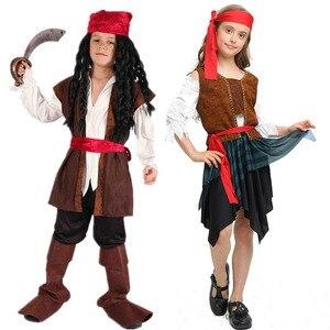 Image 3 - 2019 motyw świąteczny urodziny kostiumy dla dzieci chłopcy kostium pirata zestaw na Cosplay dla dzieci Halloween boże narodzenie dla dzieci dzieci