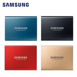 SAMSUNG T5 Solid State Drives External SSD 500GB 1TB USB3.1 Gen2 External SSD 2TB SSD