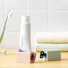 Пластиковая трубка для зубной пасты, простая соковыжималка, 4 цвета, 1 шт.