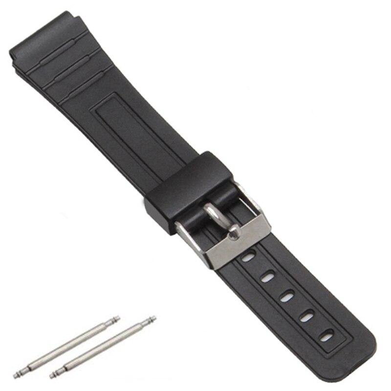 16mm 18mm 20mm Pulseira de Silicone relógios de Pulso de Borracha Bandas Para casio EF Substituir Relógio Faixa de Relógio de Pulso Eletrônico esportes Cintas