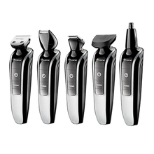 All in 1 washable electric hair trimmer beard trimer professional mustache clipper hair cutting machine haircut for men grooming