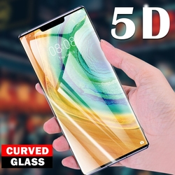 На Алиэкспресс купить стекло для смартфона 3d curved toughened protective film full cover tempered glass screen protector for huawei mate 30 pro rs 20 x lite
