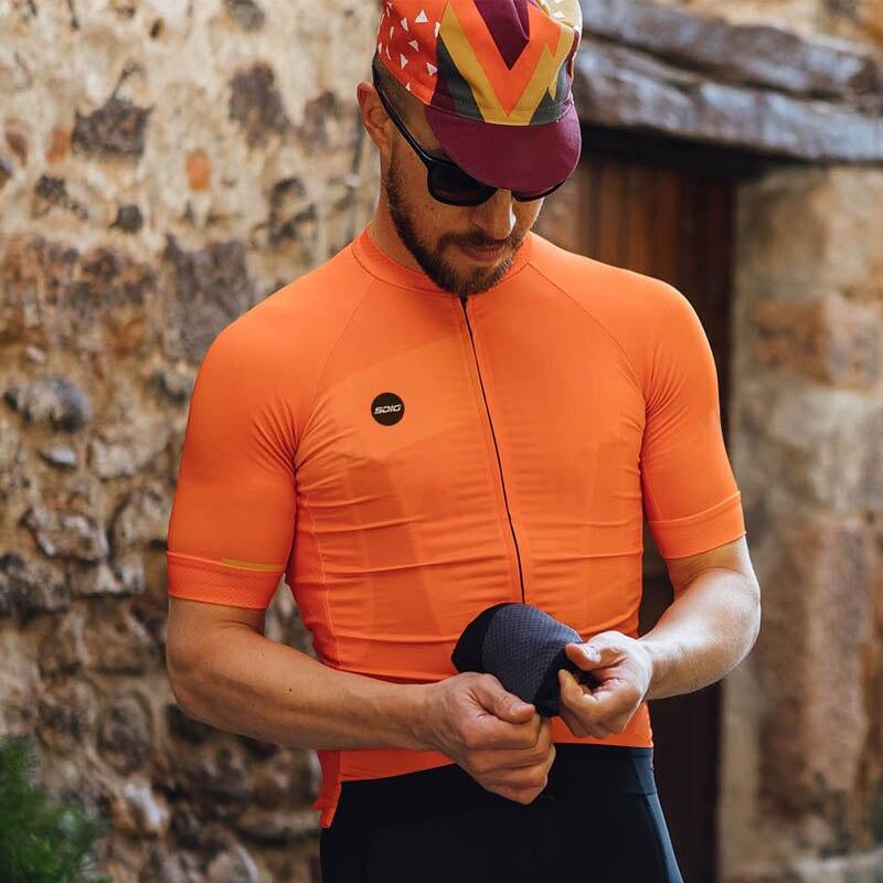 Rcc Raphp Mens Wielertrui Korte Mouwen Mountainbike Fiets Shirts Mtb Road Jersey Reflecterende Rits Zakken