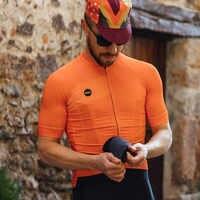 Rcc raphp camisa de ciclismo dos homens manga curta camisas bicicleta montanha mtb estrada camisa reflexiva zíper bolsos