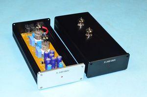 Image 2 - X 10D 2.0 circuit dorigine HiFi 6N11 tube tampon audio signal tube préamplificateur avec adaptateur secteur AC12V