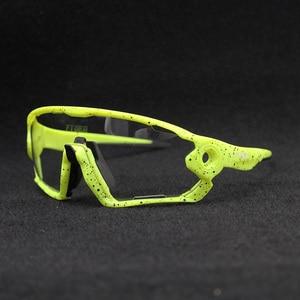 Image 1 - Hot Sale Clear Photochromic Cycling Sunglasses Sports Sunglasses Men Women MTB Road Bicycle Cycling Glasses Eyewear