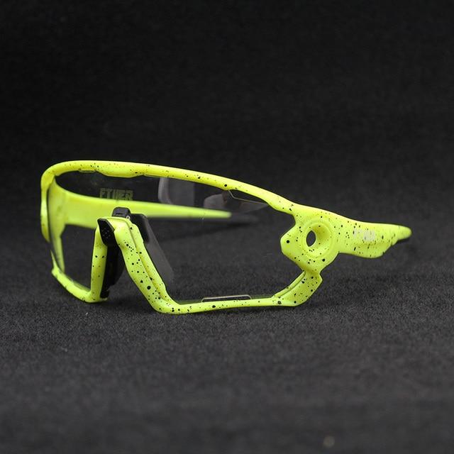 Hot Sale Clear Photochromic Cycling Sunglasses Sports Sunglasses Men Women MTB Road Bicycle Cycling Glasses Eyewear