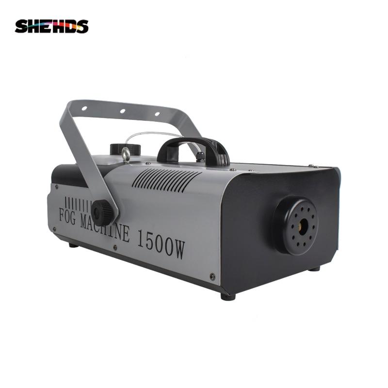 Machine de brouillard d'étape de machine de la fumée 1500W pour le contrôle à distance et de fil et DJ de partie de contrôle DMX512, éclairage d'étape de SHEHDS