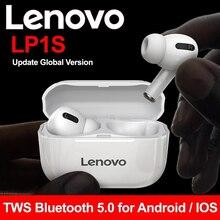 Беспроводные Bluetooth-наушники Lenovo LP1S/LP1, стереогарнитура с шумоподавлением, спортивные TWS-наушники, Bluetooth 5,0, ANC-наушники с микрофоном