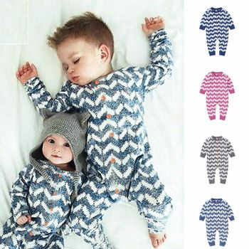 Autumn Infant Baby Boy Girl Romper Winter Cotton Long Sleeve Knitted Jumpsuit Baby Girl Boy Clothes Newborn Toddler Outfits 2017 newborn baby boy winter long sleeve cotton clothing toddler baby clothes romper warm cartoon jumpsuit for 0 12 months