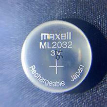 Batterie Bottone Ml2032 Cellule Delle Original 2pcs/Lot Maxell New Al-Litio Ricaricabile
