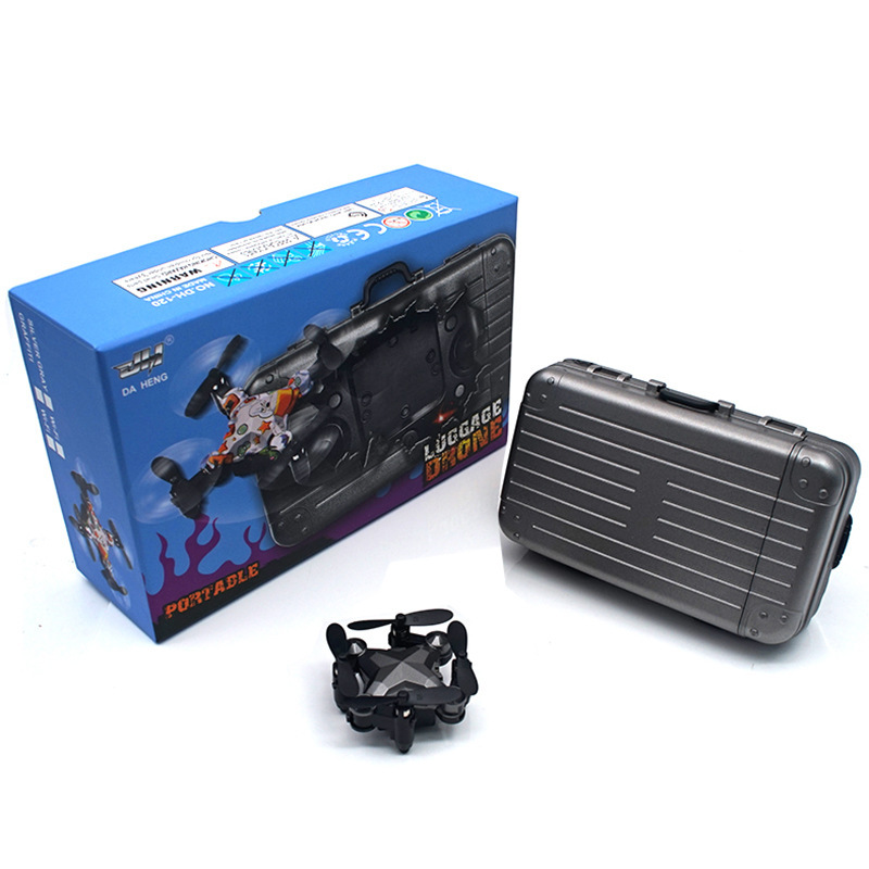 Luggage Travel Lugguge Mini Folding Mobile Phone Image Transmission Quadcopter Unmanned Aerial Vehicle Dh-120 Shaking Voice Netw