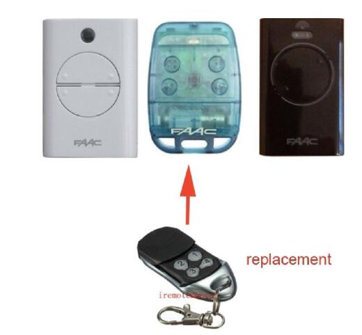 The Remote For FAAC 787452  XT4 433.92 Mhz Garage Door Remote Control