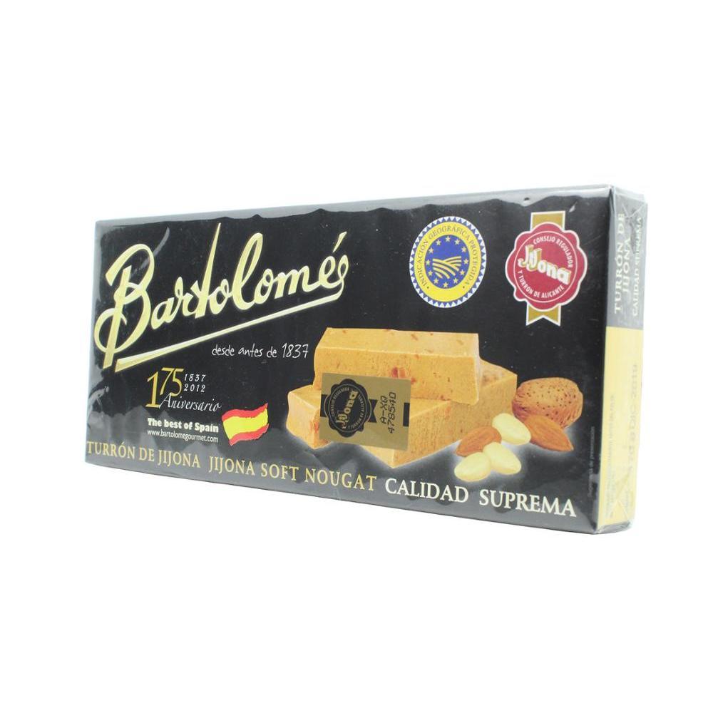 barthelemy-gourmet-nougat-jijona-150-gr-le-meilleur-de-l'espagne-qualite-supreme-amandes-alimentation-noel