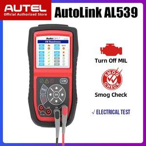 Image 1 - Autel AL539 OBDII קוד קורא OBD רכב סורק חשמל Tester אל 539 12V Autel AL539B AVO מטר סוללה בודק אבחון כלי