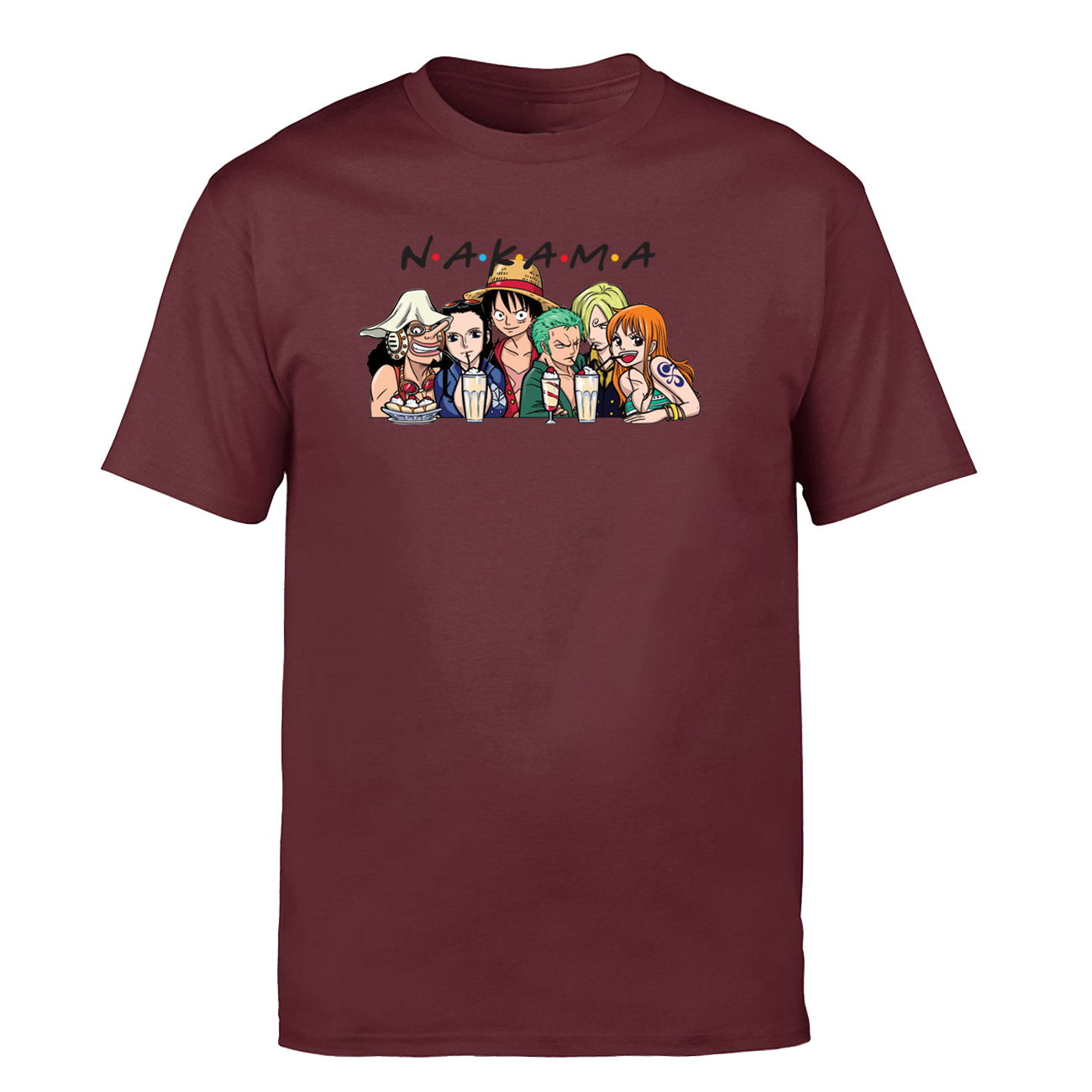 One Piece Pirate Monkey D Luffy Japanese Anime T Shirt Black Size S-3XL