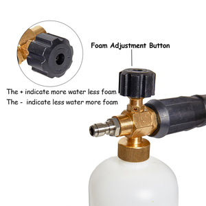 Image 5 - High Pressure Washer Snow Foam Lance,Foam Generator For Karcher For Bosch For Lavor For Black Decker,Car Washer Foam Gun