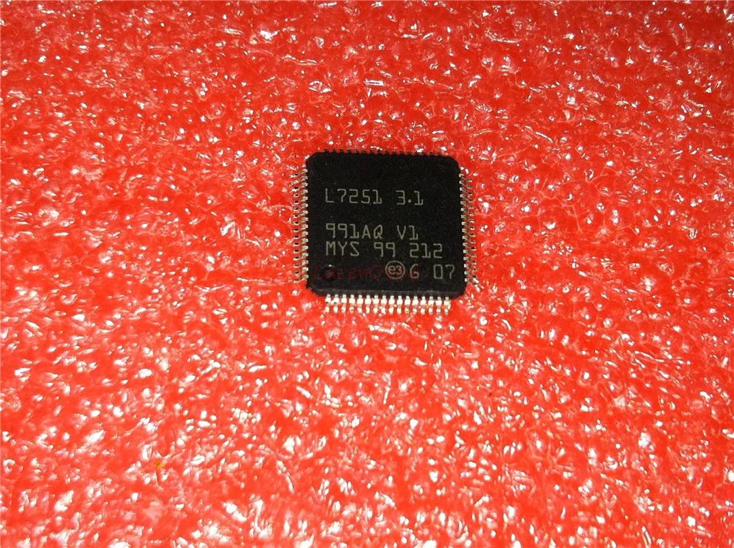 1pcs/lot L7251-3.1 L7251 3.1 L725I QFP-64 In Stock