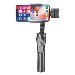 H4 ręczny stabilizator gimbal dla iphone'a dla samsunga dla galaktyki dla Huawei kamera akcji Smartphone zewnętrzny uchwyt na telefon komórkowy