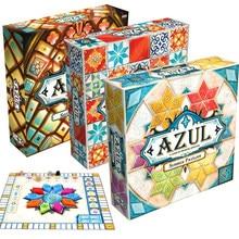 Azul jogo de tabuleiro jogos de tabuleiro telha desenho para 2-4 jogador vitrais de sintra 2 família diversão alegria verão pavilhão