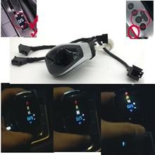 DSG AT color LED Gear position display Gear Shift Knob Shift Lever Handball For Skoda Octavia Yeti superb for passat B8 Golf 7