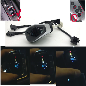 Image 1 - DSG AT color LED Gear position display Gear Shift Knob Shift Lever Handball For Skoda Octavia Yeti superb for passat B8 Golf 7