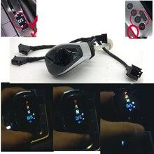 DSG AT цветной светодиодный дисплей положения шестерни ручка переключения передач рычаг переключения для Skoda Octavia Yeti superb для passat B8 Golf 7
