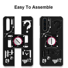 Shockproof P30 Case For Huawei P30 Pro Case Luxury Metal Back Cover Mechanical P30 Pro Funda For Huawei P30 Case P30 Pro Coque shockproof case for huawei p30 lite metal fundas for huawei p30 pro armor phone cover for huawei p30 rugged case p30 pro capa