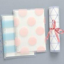 Weiche Abdeckung Lose-blatt Buch B5/A5 Notebook Einfache Muster Notebook Papier Tagebuch Abnehmbare Einfache Verdickt Spule Shell notebook