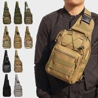 Mochila táctica militar de camuflaje para escalada, bolso de hombro para acampar, senderismo, caza, accesorios de caza, 600D, 10 colores