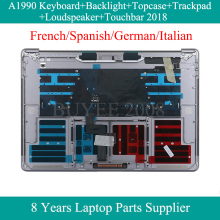 French Spanish German Italian A1990 Keyboard For Macbook Pro A1990 Azerty FR SP GE IT