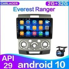 Android 10.0 Ford Everest Ranger 2006 2010 mazda bt 50 için araba radyo multimedya Video oynatıcı navigasyon GPS 2 din 2G + 32G
