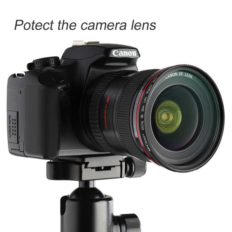 K & F konsept UV filtre Lens MC Ultra ince optik çok kaplı koruma 52mm 55mm 58mm 62mm 67mm 72mm 77mm 82mm