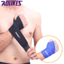 Aolikes 1Pcs Gym Wrist Band Sports Wristband New Wrist Brace Wrist Support Splint Fractures Carpal Tunnel Wristbands for Fitness(China)